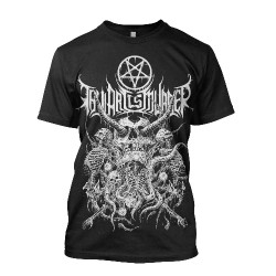 Thy Art Is Murder - Riddick Skull Pile - T-shirt (Homme)