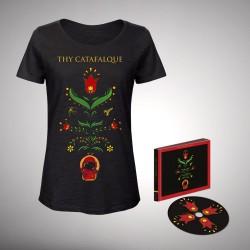 Thy Catafalque - Bundle 2 - CD Mediabook + T-shirt Bundle (Femme)