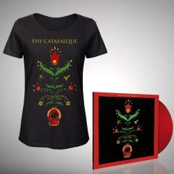 Thy Catafalque - Bundle 6 - LP gatefold coloured + T-shirt bundle (Femme)