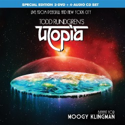 Todd Rundgren's Utopia - Benefit For Moogy Klingman - 4CD + 2DVD BOX