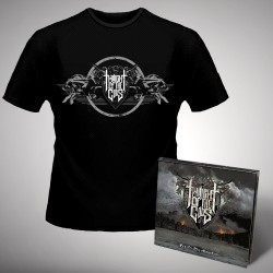 Twilight Of The Gods - Fire on the Mountain - CD DIGIPAK + T-shirt bundle (Homme)