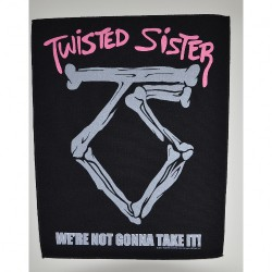 Twisted Sister - We're Not Gonna Take It - BACKPATCH