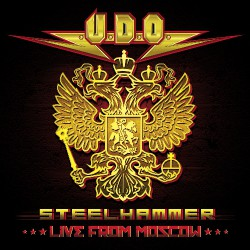 U.D.O - Steelhammer – Live from Moscow - 2CD + BLU-RAY