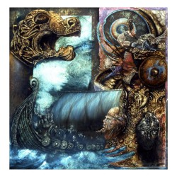 Unleashed - Across The Open Sea - Giclée