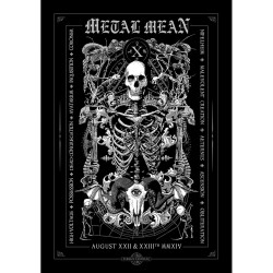 Various Artists - Metal Méan X - Silkscreen