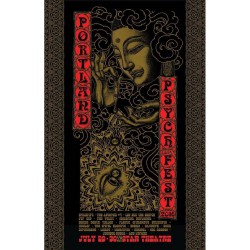 Various Artists - Portland Psych Fest - Lithograph