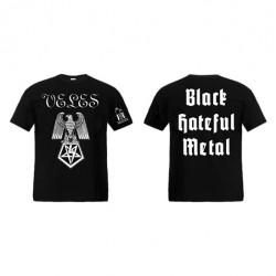 Veles - Black Hateful Metal - T-shirt (Homme)