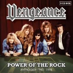 Vengeance - Power Of The Rock - Anthology 1983-98 - 9CD BOX