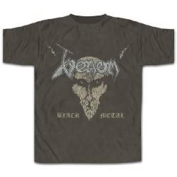 Venom - Black Metal [distressed] - T-shirt (Men)
