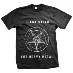 Victory - Thank Satan - T-shirt (Homme)