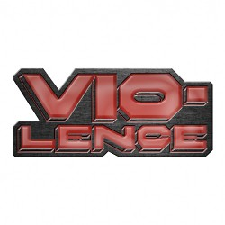 Vio-lence - Logo - METAL PIN