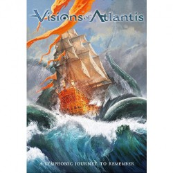 Visions Of Atlantis - A Symphonic Journey To Remember - Blu-ray + DVD + CD Digipak