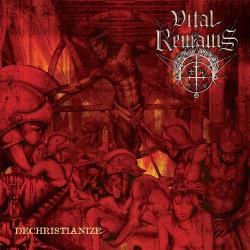 Vital Remains - Dechristianize - DOUBLE LP