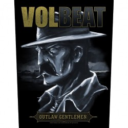 Volbeat - Outlaw Gentlemen - BACKPATCH