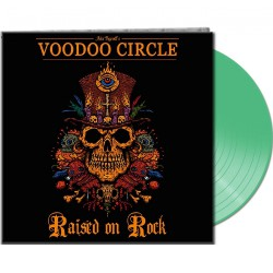 Voodoo Circle - Raised On Rock - LP Gatefold Coloured