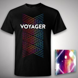 Voyager - Colours In The Sun - CD DIGIPAK + T-shirt bundle (Homme)