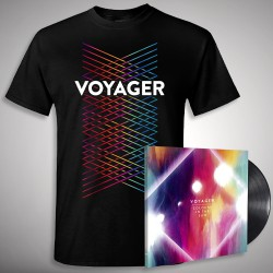 Voyager - Colours In The Sun - LP gatefold + T-shirt bundle (Homme)