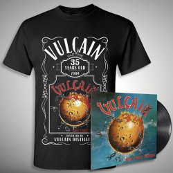 Vulcain - Rock 'N' Roll Secours - LP + T-Shirt bundle (Homme)