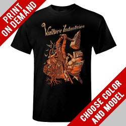 Vulture Industries - Dictator - Print on demand