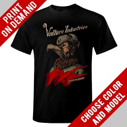 Vulture Industries - Over Russia - Print on demand