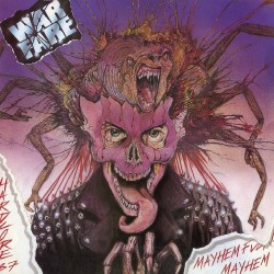 Warfare - Mayhem Fucking Mayhem - LP COLOURED
