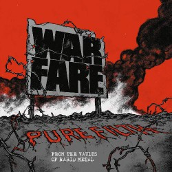 Warfare - Pure Filth From The Vaults Of Rabid Metal - CD
