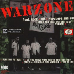 Warzone - Cause For Alarm - LP COLOURED