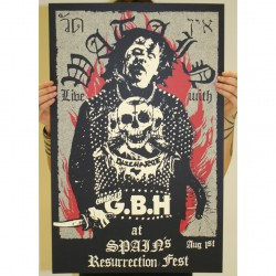 Watain - Part 8 Of 10 Of The Watain Poster Series - Screen print