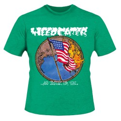 Weedeater - Justice Green - T-shirt (Homme)