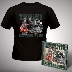 Weedeater - Sixteen Tons - CD + T-shirt bundle (Homme)