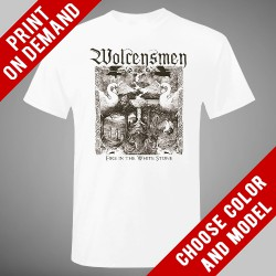 Wolcensmen - Fire In The White Stone - Print on demand