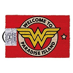 Wonder Woman - Welcome To Paradise Island - DOORMAT
