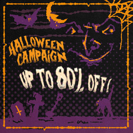 Halloween offers from 1.99€!