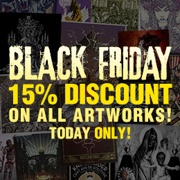 15% discount on metal artworks!
