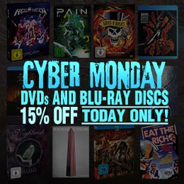 15% discount on metal DVDs and Blu-rays discs!