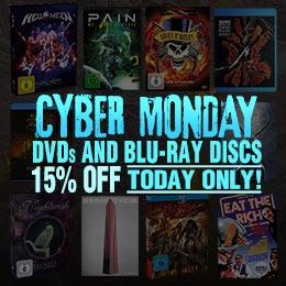 15% de remise sur les DVD et Blu-ray discs !