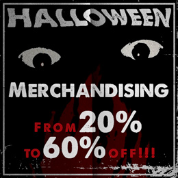 Halloween merch from 4.99€!