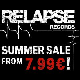 Soldes d'été Relapse Records !