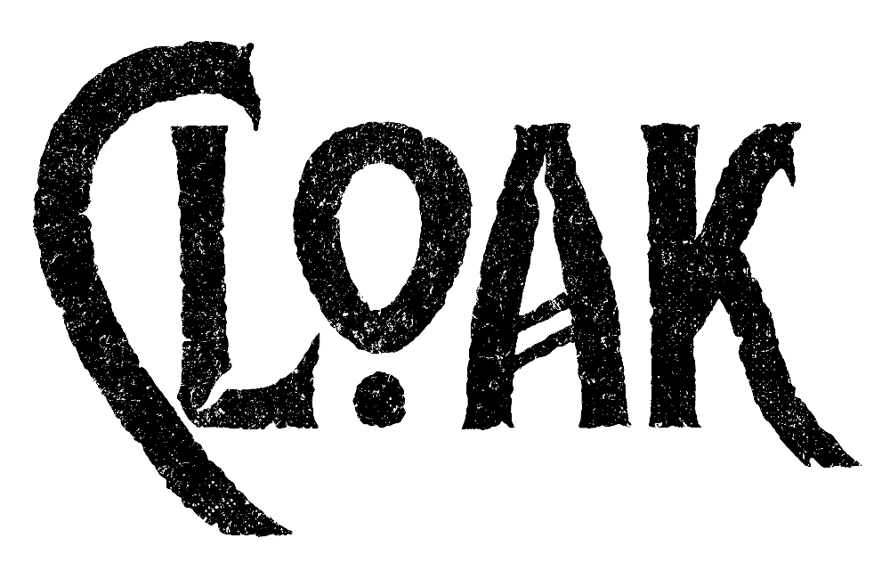 Cloak Merch : album, shirt and more