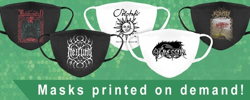 Designs available for print on masks!