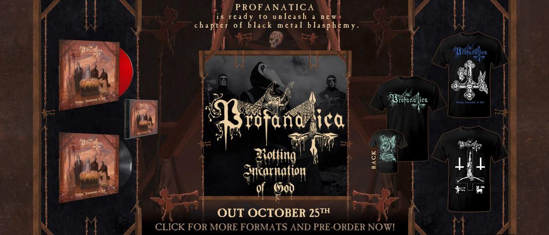 Profanatica Rotting Incarnation Of God items pre-order