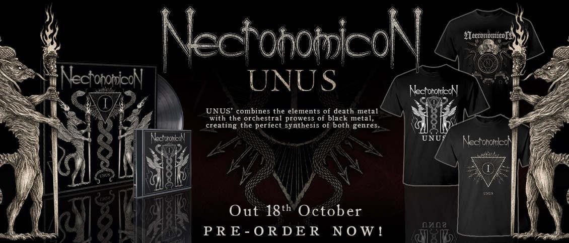 Necronomicon - Unus pre order items