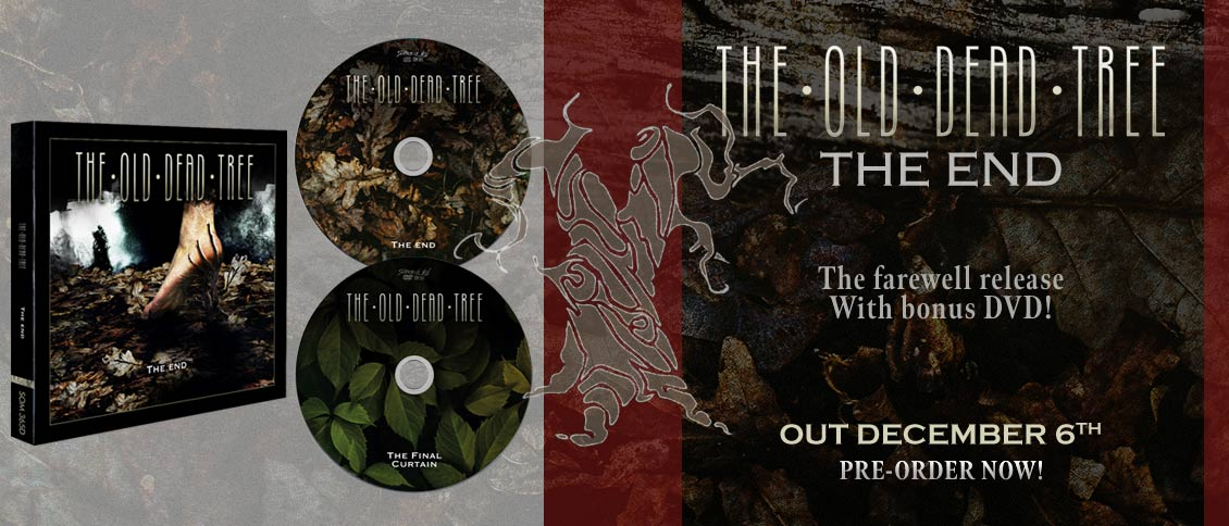 The Old Dead Tree The End pre-order