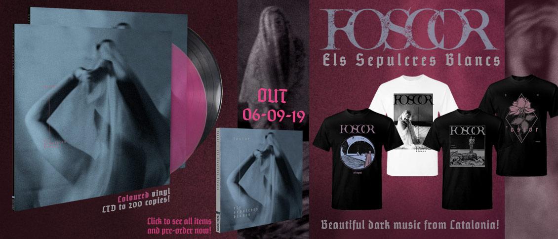 Foscor Els Sepulcres Blancs new album pre-order