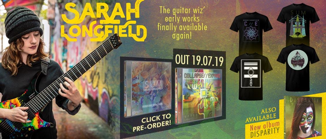 Sarah Longfield reissues pre-order