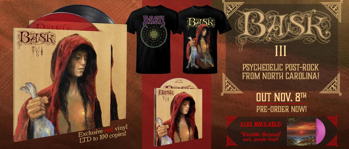 Bask III new album pre-order