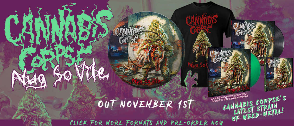 Cannabis Corpse - Nug So Vile items pre-order