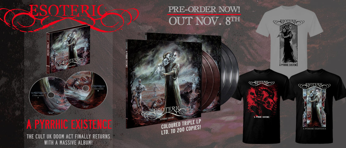 A Pyrrhic Existence new album pre-order
