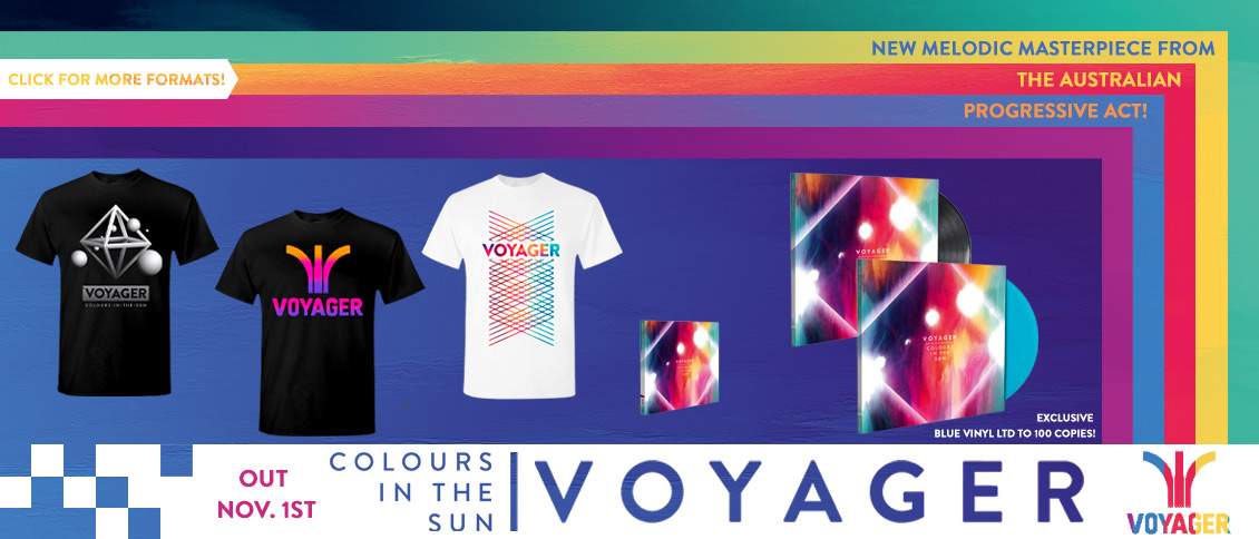 Voyager Colours In The Sun new album pre-order