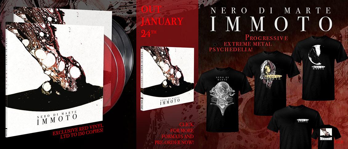 Nero Di Marte new album pre-order